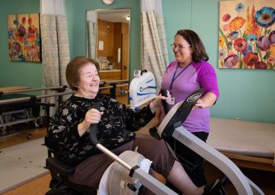 Person centered care during short-term rehabilitaiton program